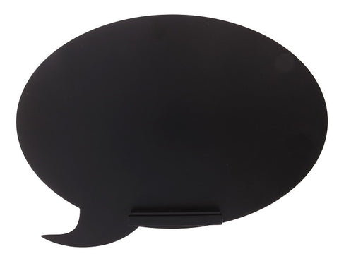 Sass and Belle - Speech Bubble Shaped Chalkboard/blackboard