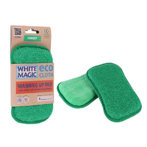 White Magic ECO Cloth  Washing up Pad - Various Colours