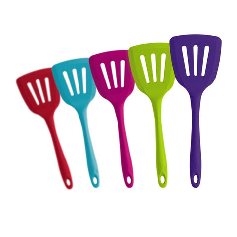 Silicone Slotted Turner - Various Colours