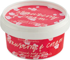 Bomb Cosmetic Strawberries and Cream Perfect nourishing Body Butter 210ml
