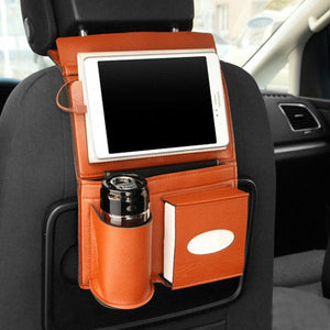 Car Seat Back Charging Cable Storage Bag