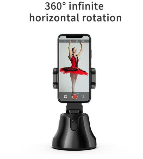 Smart Shooting Selfie Stick Smartphone Holder Mount 360 Rotation Auto Face Tracking Object Tracking vlog Camera Phone Holder