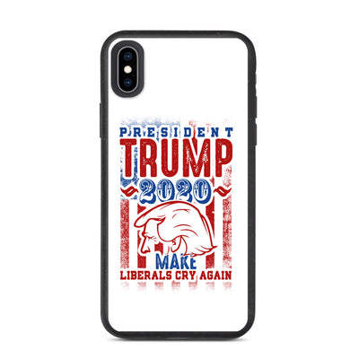 President Donald Trump Biodegradable phone case