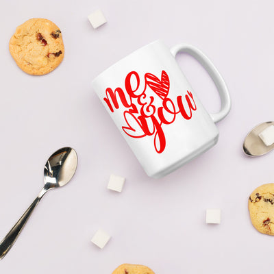 Me and you lovely couple mug gift