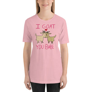 I Goat You Babe Cute Goat Shirt - Couples T-Shirt