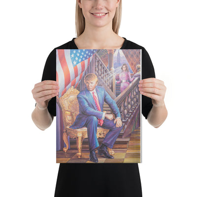 President Donald Trump Canvas Painting