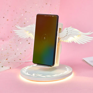 Colorful Universal Wireless Charger Angel Wings