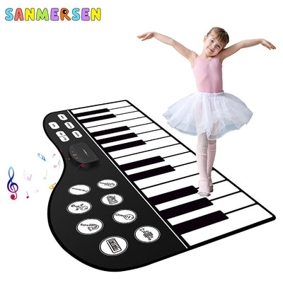 Musical Piano Instruments Toys Mat for Children