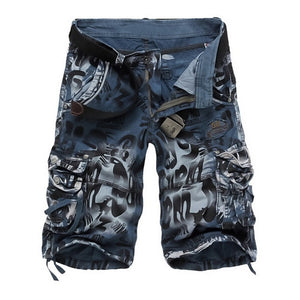 Summer Men Camouflage Shorts