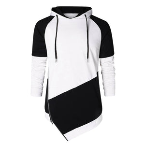Autumn Spring Patchwork Long Sleeve hoodies