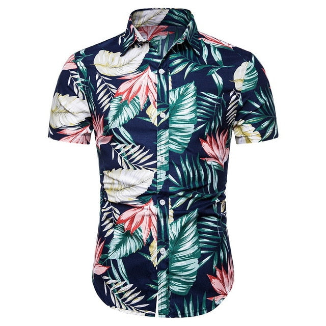 Men's Fashion Hawaiian Slim Fit Shirt