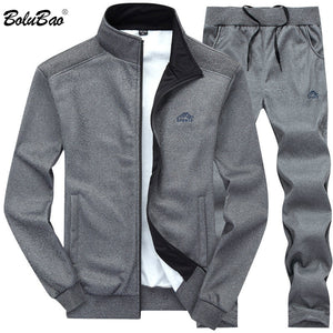 Tracksuits Solid Color Sportswear 2 Piece Set