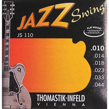 Jazz Swing Guitar strings Flat wound nickel  Extra Light .010 -.044 - T-JS110