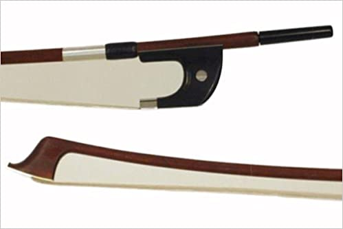 Pernambuco Bass Bow, German Frog - Branded