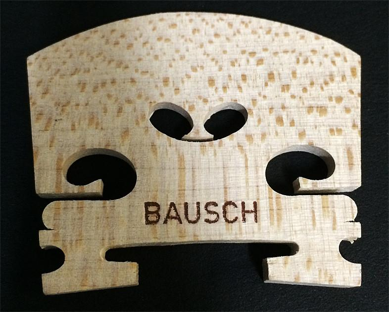 Violin Bridge Bausch Model