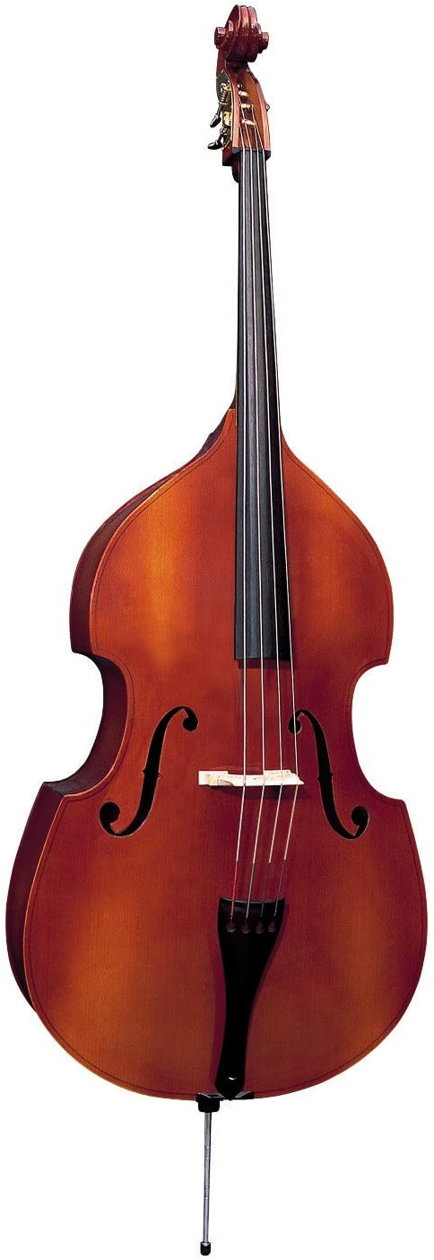 Carved Top Czech Made Double Bass