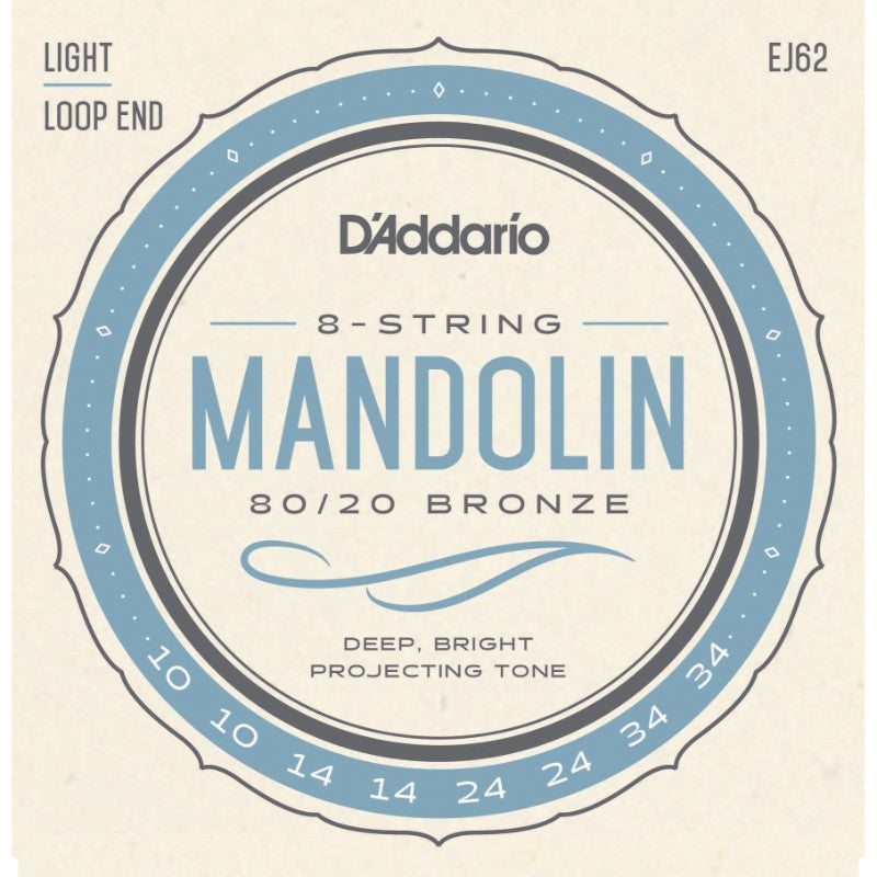 D'addario Mandolin String Set - J62