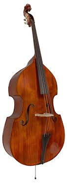 Czech Fully Carved Flat Back Double Bass