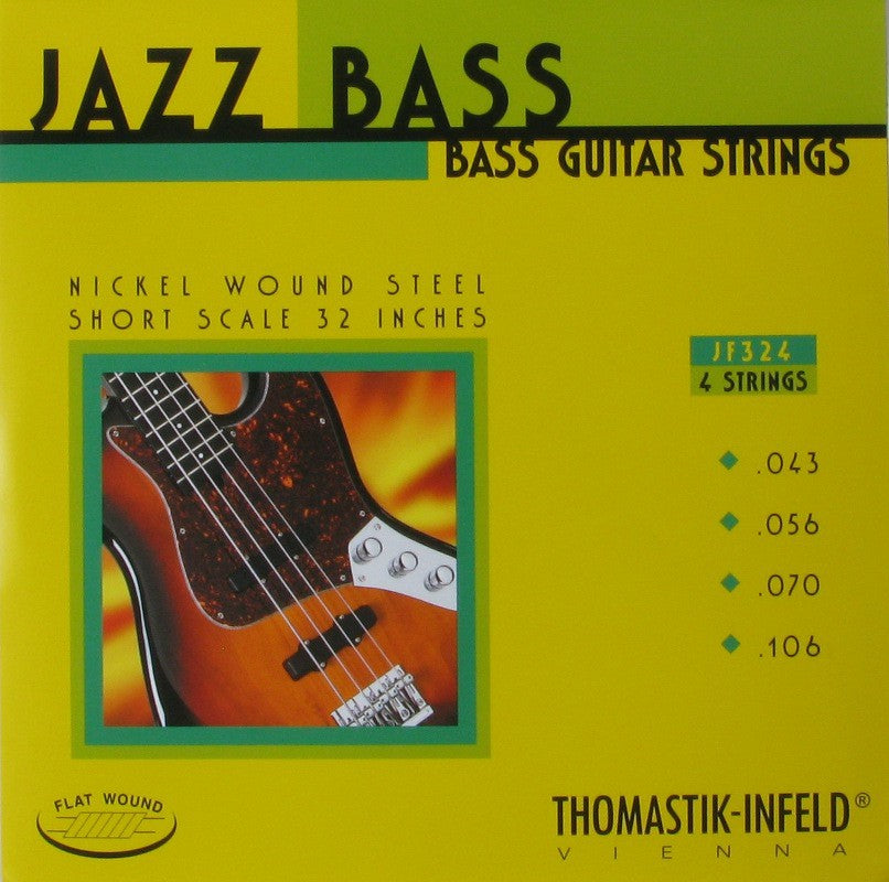 Thomastik Flatwound Jazz Bass String set short scale 32