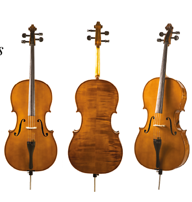 Czech Made Cello - Hand Carved.