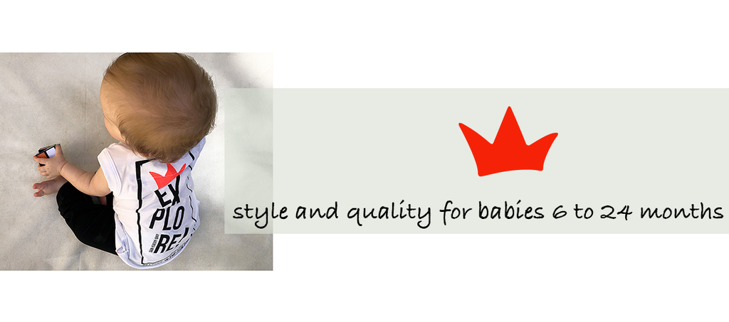 Style and quality clothing for babies 6 to 24 months