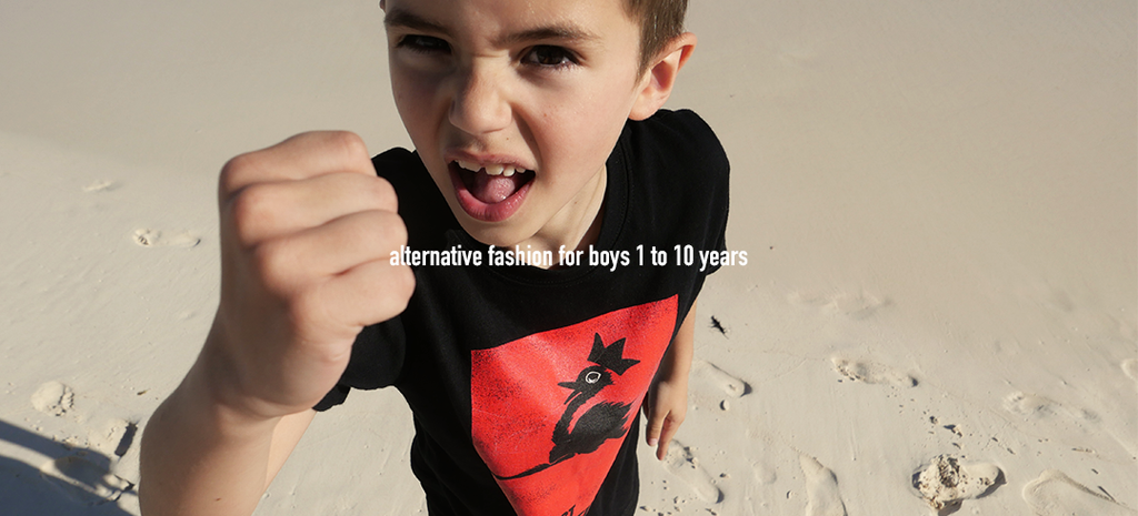 alternative fashion for boys 2 to 10 years