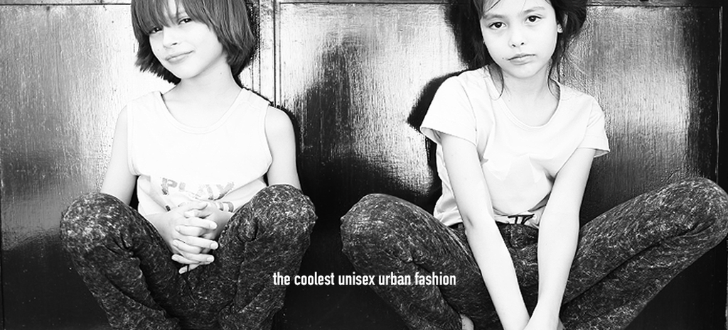 Unisex urban fashion for cool kids 1 to 10 years