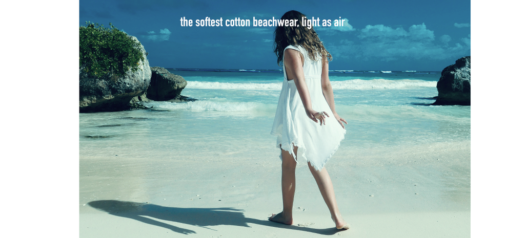 Resort & Beachwear for Girls 2 to 12 years of age. Super-light cotton beach pieces and seriously cool swimwear and beach accessories, high quality, practical shapes and minimalism.