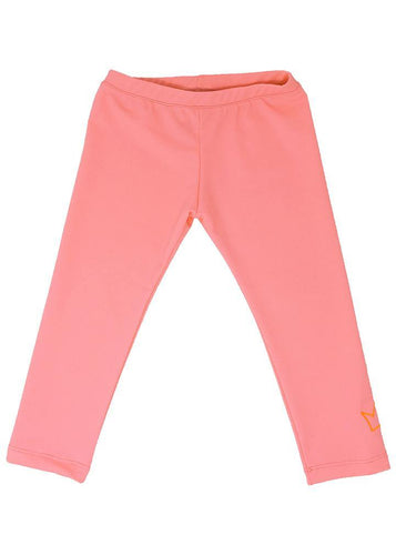 Girl's everyday lycra leggings, she'll wear them to lounge, to the park, to dance, to the beach or to school. So stretchy and always comfy.