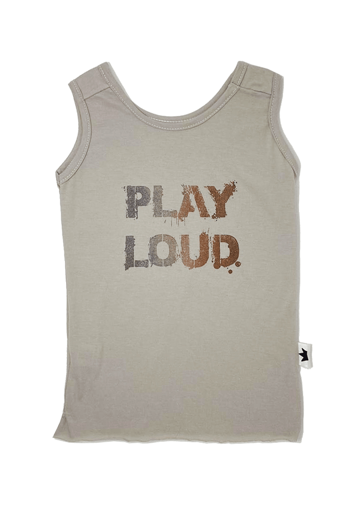 2021 Play Loud sleeveless tee