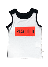 Load image into Gallery viewer, Play Loud Sleeveless T-Shirt