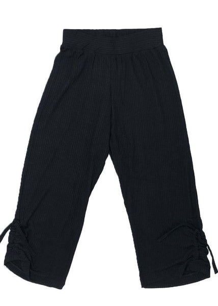This black pants for boys & girls are light as air and super soft, roomy & slouchy perfect for the weekend but also for their aikido, kendo, judo or karate classes. Unisex.