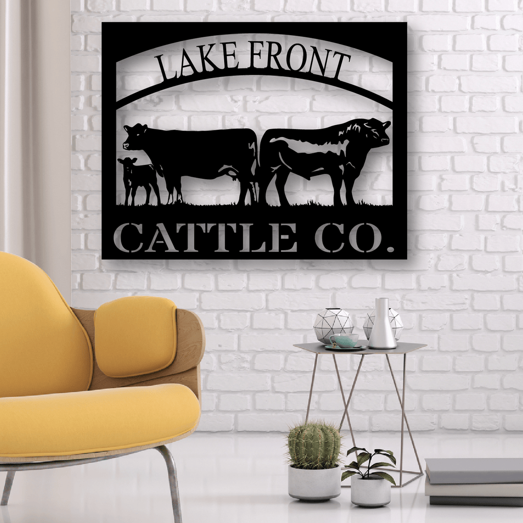 Cattle Monogram