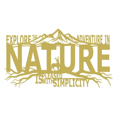 Explore The Adventure In Nature