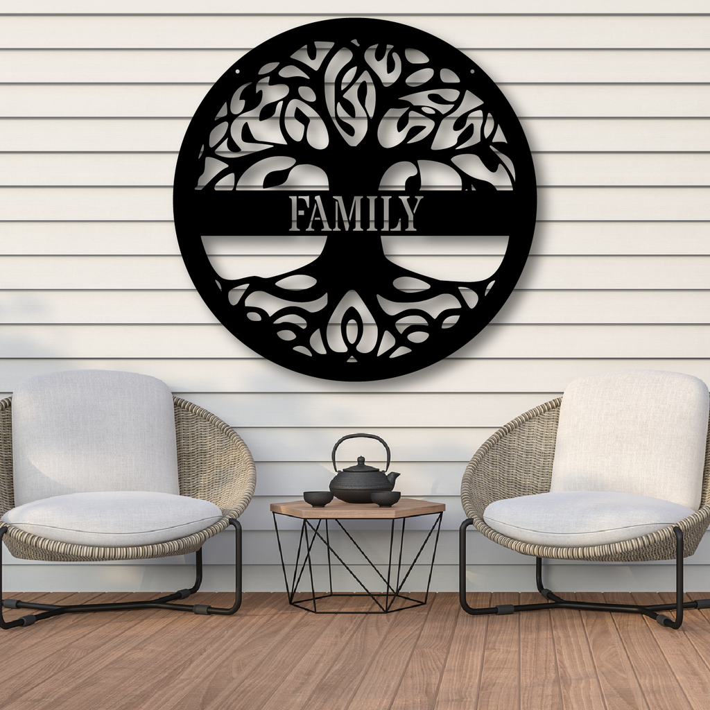 Tree of Life Custom Monogram