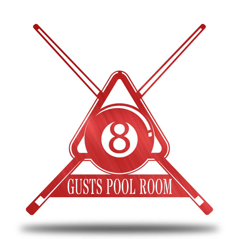 Pool Table Monogram