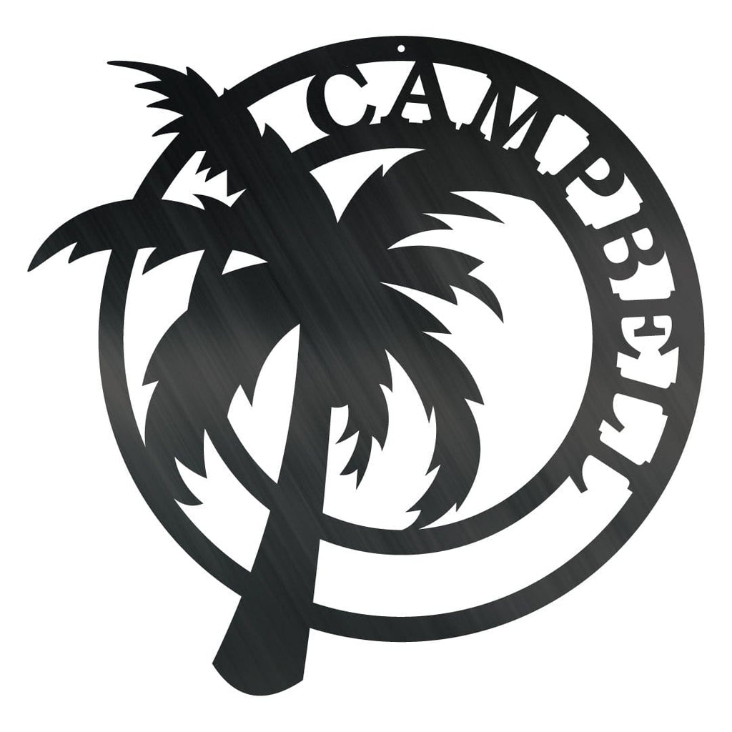 Palm Tree Monogram