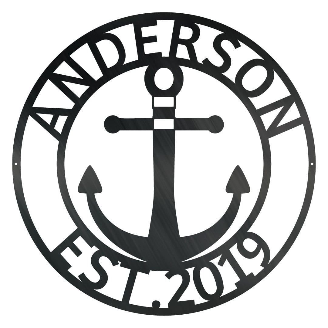Anchor EST Monogram