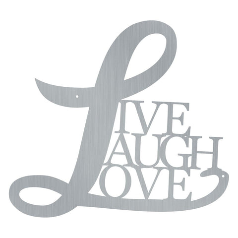 Cursive Live Laugh Love