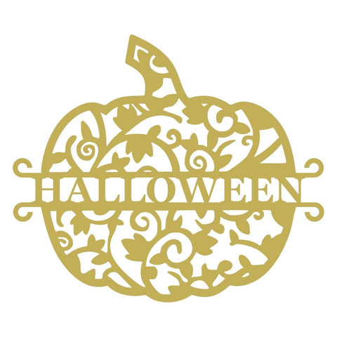 Pumpkin Halloween Monogram