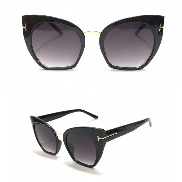 توم فورد - Eyecat Black Women Sunglasses