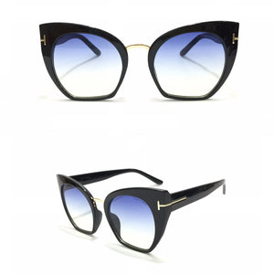 توم فورد - Eyecat Blue Women Sunglasses