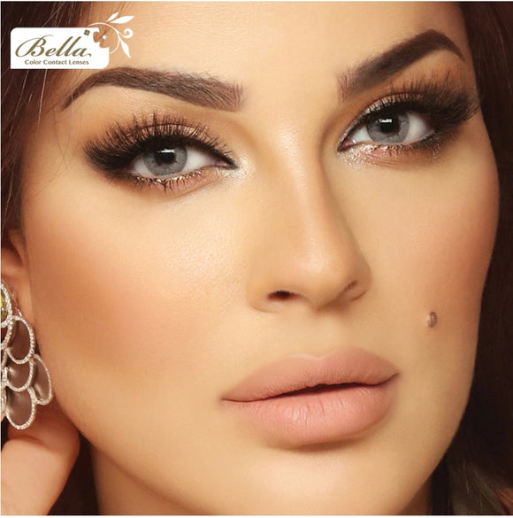 بيلا ايليت 2020  Cosmetic contact lenses- Mint Gray