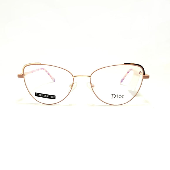 ديور Cateye    lenses  Women eyeglasses 3505