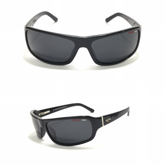 كاريرا - Rectangle Black Sunglasses 120