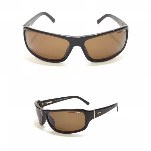 كاريرا - Rectangle Brown Sunglasses 120
