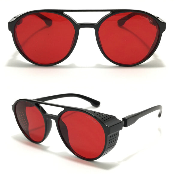 كاريرا- Circle Red Sunglasses 1807