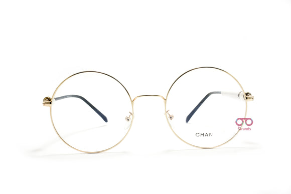 شانيل - Circle lenses Women eyeglasses CH250 GOLD#