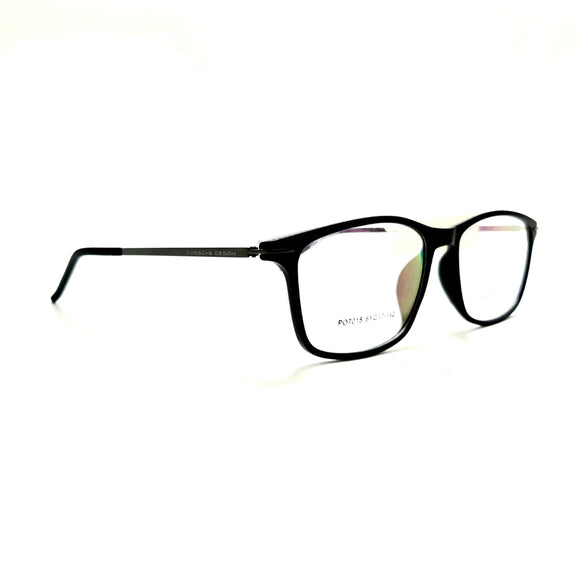 بورش ديزاين - Rectangle lanse frame men eyeglasses PO7015#
