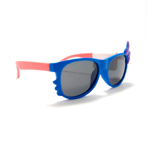 جوتشى Sun Glasses Kids Girls - Cat eye  lense -  s 8170#